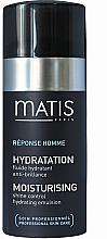 Parfumuri și produse cosmetice Emulsie pentru față - Matis Reponse Homme Moisturising Shine Control Hydrating Emulsion