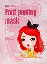 Mască de țesut pentru tălpi - The Orchid Skin Orchid Flower Foot Peeling Mask — Imagine N1