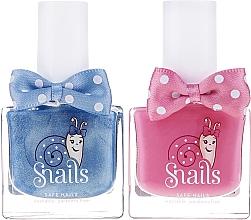 Parfumuri și produse cosmetice Set ojă de unghii pentru copii, 2x10,5ml - Snails Mini Bebe Dream Big