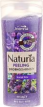 """Parfumuri și produse cosmetice Peeling fin pentru duș """"Flori de liliac"""" - Joanna Naturia Peeling"""