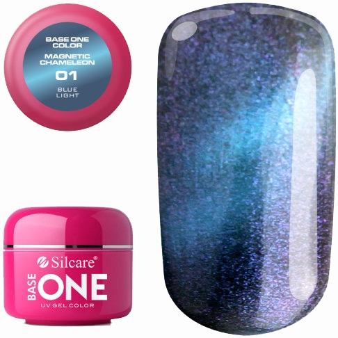 Gel de unghii - Silcare Base One Magnetic Chameleon UV Gel Color