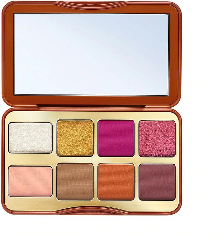 Paletă fard de ochi - Too Faced Gingerbread Spice Mini Eye Shadow Palette — Imagine N2