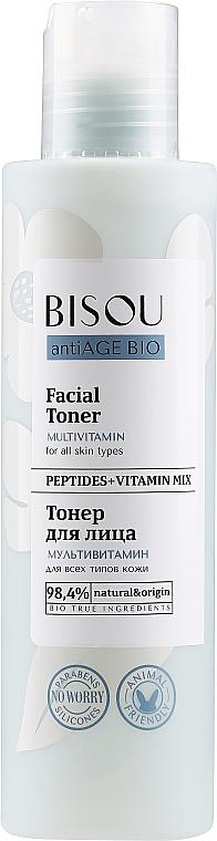 "Toner facial ""Multivitamine"" - Bisou AntiAge Bio Facial Toner"