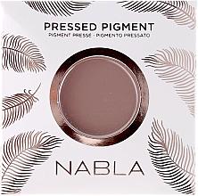 Parfumuri și produse cosmetice Fard mat de pleoape - Nabla Pressed Pigment Feather Edition Matte Refill Eyeshadow (carcasă de schimb)