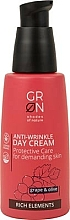 Parfumuri și produse cosmetice Cremă de zi pentru față - GRN Rich Elements Grape & Olive Day Cream