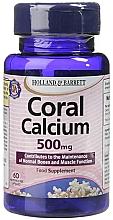 "Parfumuri și produse cosmetice Supliment alimentar ""Coral calciu"" - Holland & Barrett Coral Calcium 500mg"