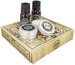 Parfumuri și produse cosmetice Dear Barber Men's Mini Beard Grooming Kit - Set (edt/10 ml + balm/15 ml + oil/10 ml + wax/15 ml)
