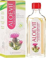"""Parfumuri și produse cosmetice Remediu împotriva căderii părului """"Aloevit"""" - Kosmed Aloevit Nourishing & Strengthening"""