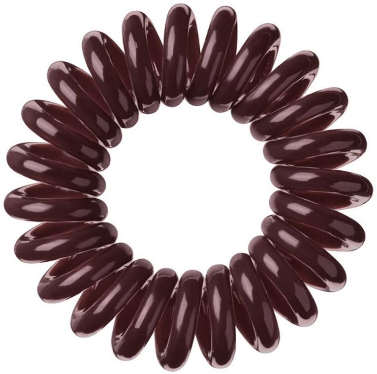 Elastic de păr - Invisibobble Chocolate Brown — Imagine N1