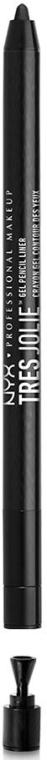 Creion Gel pentru ochi - NYX Professional Makeup Tres Jolie Gel Pencil Liner