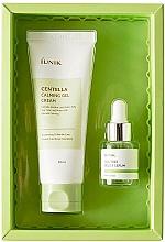 Parfumuri și produse cosmetice Set - iUNIK Centella Edition Skincare Set (cr/60ml + ser/15ml)