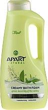 """Parfumuri și produse cosmetice Spumă de baie """"Ceai verde și lăcrămioare"""" - Apart Natural Body Care Bath Foam"""