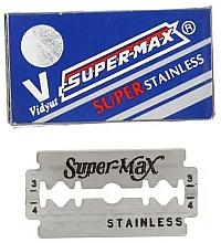 Parfumuri și produse cosmetice Lame, 10 buc. - Super-Max Super Stainless DE Razor Blades