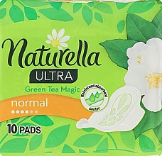 Parfumuri și produse cosmetice Absorbante, 10 bucăți - Naturella Green Tea Magic