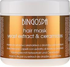 Parfumuri și produse cosmetice Mască pentru păr, cu extract de drojdie - BingoSpa Hair Mask From Yeast Extract
