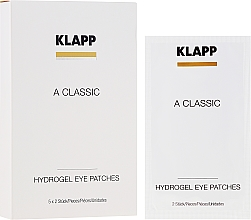 "Parfumuri și produse cosmetice Patch-uri sub ochi ""Vitamina A"" - Klapp A Classic Eye Care Pads"