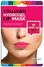 Parfumuri și produse cosmetice Mască pentru buze - Beauty Face 3D Push-Up Collagen Hydrogel Lip Mask