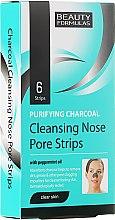 Parfumuri și produse cosmetice Benzi de Curățare profundă a porilor de pe Nas - Beauty Formulas Purifying Charcoal Deep Cleansing Nose Pore