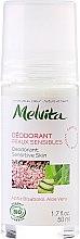 Parfumuri și produse cosmetice Deodorant pentru pielea sensibilă - Melvita Body Care Deodorant Sensetive Skin