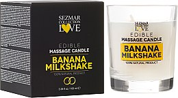 """Parfumuri și produse cosmetice Lumânare naturală pentru masaj """"Banană"""" - Sezmar Collection"""
