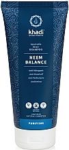 "Parfumuri și produse cosmetice Șampon ""Nim"" - Khadi Shampoo Neem Balance"