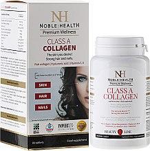 Parfumuri și produse cosmetice Suplimente pentru îngrijirea corpului, feței și a părului - Noble Health Kolagen Class A