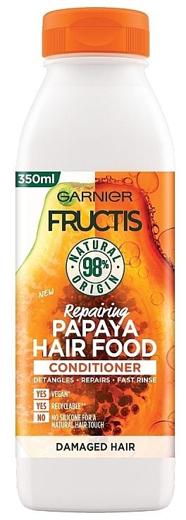 "Balsam regenerant pentru păr ""Papaya"" - Garnier Fructis Repairing Papaya Hair Food Conditioner — Imagine N1"