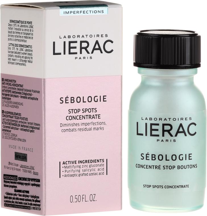 """Tratament dermatologic foarte eficient """"Stop acnee"""" - Lierac Sebologie Blemish Correction Stop Spots Concentrate"""