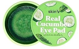 """Parfumuri și produse cosmetice Tampoane pentru ochi și față """"Castravete"""" - Skin79 Real Cucumber Eye Pad"""