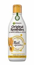 Parfumuri și produse cosmetice Lapte-mască pentru păr - Garnier Original Remedies Repairing Honey Hair Mask
