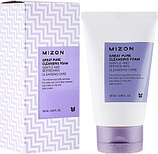 Parfumuri și produse cosmetice Spumă de curățare pentru față - Mizon Great Pure