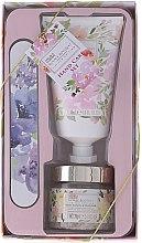 Parfumuri și produse cosmetice Set pentru îngrijirea mâinilor - Baylis & Harding (cr/50ml + salt/70g + nail/file)