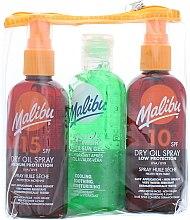 Parfumuri și produse cosmetice Set - Malibu (b/oil/100ml + b/oil/100ml + b/gel/100ml)