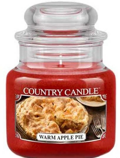 Lumânare aromată (borcan) - Country Candle Warm Apple Pie — Imagine N1