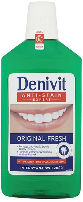"""Apă de gură """"Original Fresh"""" - Denivit — Imagine N1"""