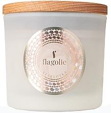 """Parfumuri și produse cosmetice Lumânare parfumată, în suport """"Șarlotă"""" - Flagolie Fragranced Candle Apple Pie"""