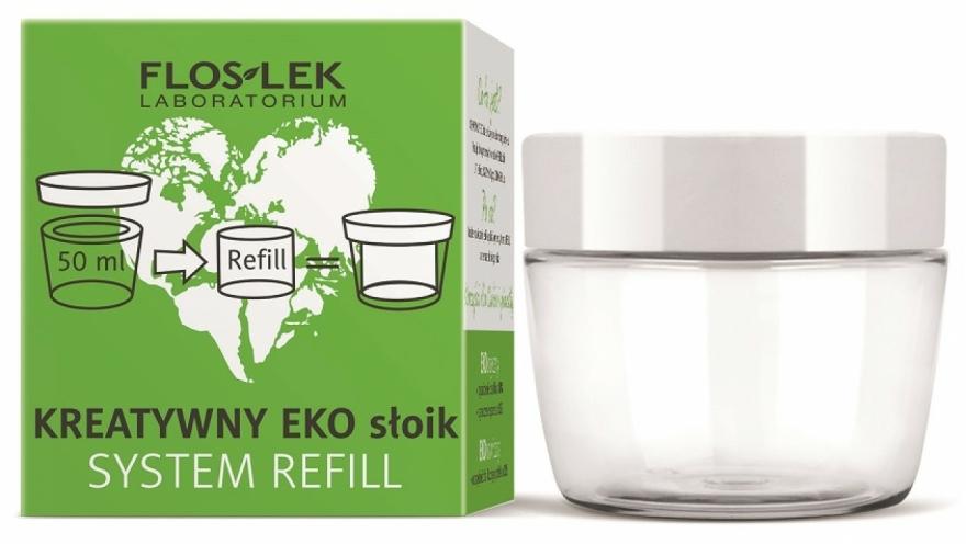 Eco-recipient universal pentru cremă - Floslek Creative Eco Jar System Refill