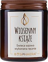 """Parfumuri și produse cosmetice Lumânare parfumată din soia """"Springtime Priests"""" - Bosphaera Springtime Priests Candle"""