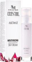 Parfumuri și produse cosmetice Crema de zi hidratantă cu efect de ametist natural - SM Collection Crystal Amethyst Moisturizing Day Cream