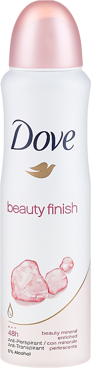 Deodorant - Dove Beauty Finish Deo Spray