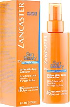 Parfumuri și produse cosmetice Spray de corp - Lancaster Sun Beauty Oil-Free Milky Spray SPF 15