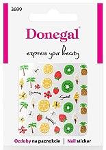 Parfumuri și produse cosmetice Nail stickers, 3699 - Donegal