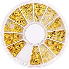 Parfumuri și produse cosmetice Strasuri pentru unghii - Peggy Sage Carousel For Nail Decorations Summer Gold