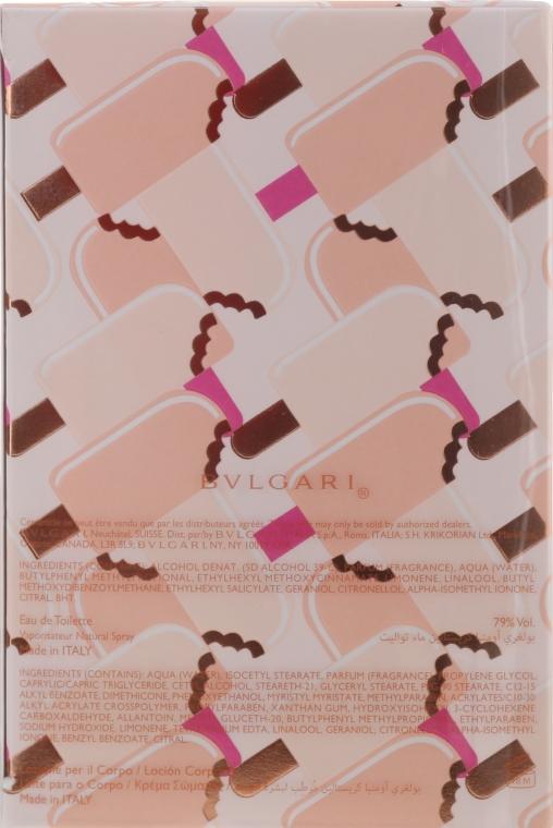 Bvlgari Omnia Crystalline - Set (edt/65ml + b/lot/75ml + sh/gel/75ml + pouch) — Imagine N7