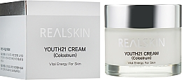 Parfumuri și produse cosmetice Cremă iluminatoare pentru față - Real Skin Youth 21 Cream Colostrum