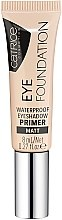 Parfumuri și produse cosmetice Bază pentru fard de pleoape impermeabilă - Catrice Eye Foundation Waterproof Eyeshadow Primer