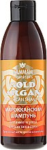 "Parfumuri și produse cosmetice Șampon marocan ""Gold Argan"" - Hammam Organic Oils Gold Argan Shampoo"