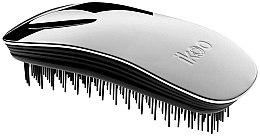 Parfumuri și produse cosmetice Pieptene pentru păr - Ikoo Home Metallic Oyster Black