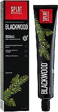 """Parfumuri și produse cosmetice Pastă de dinți """"Blackwood"""" - SPLAT Special"""