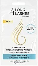 Parfumuri și produse cosmetice Mască-ser pentru păr - Long4Lashes Hair Hydro Power
